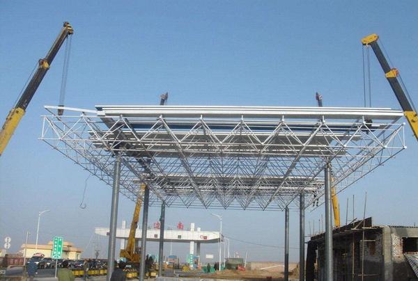 茂名钢结构加油站