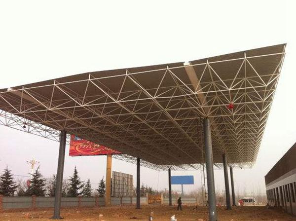东莞钢结构加油站