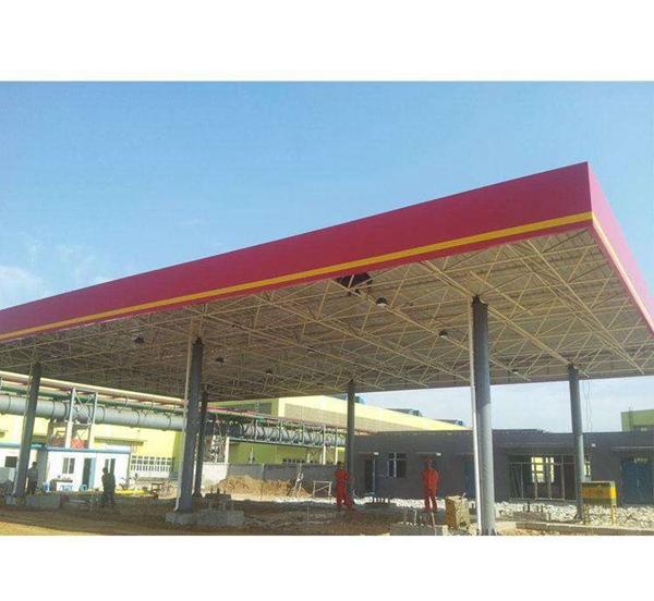 深圳钢结构加油站