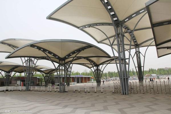 清远钢结构雨棚