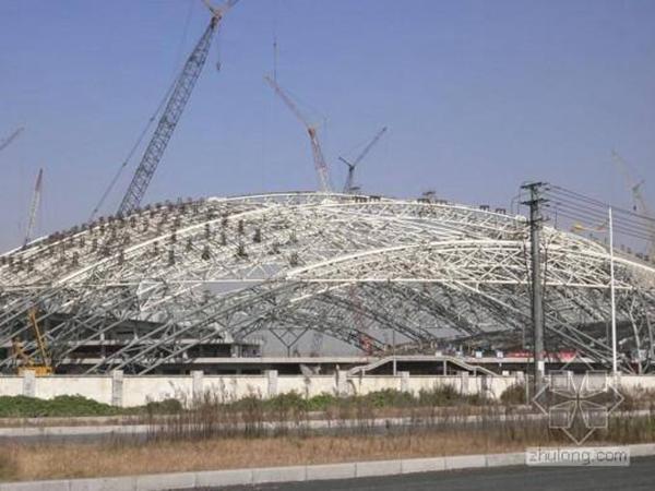 清远钢结构体育馆