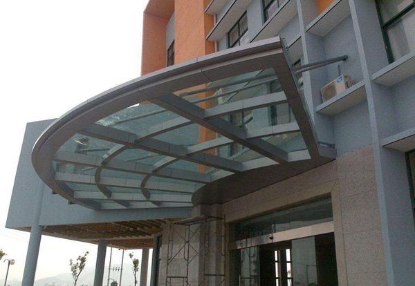 中山钢结构雨棚